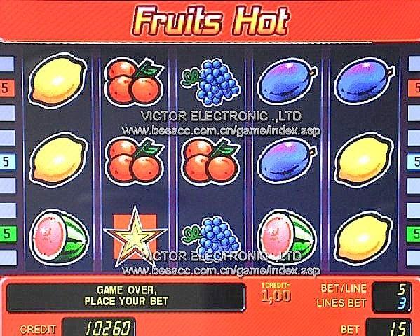 juegos de casino de frutas gratis