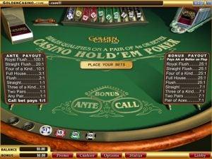 Casino Holdem Póker